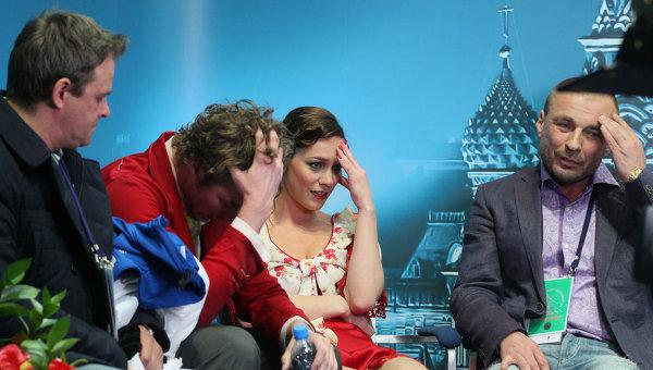 Олег Волков, Натали Пешала, Фабиан Бурза, Александр Жулин (слева направо)