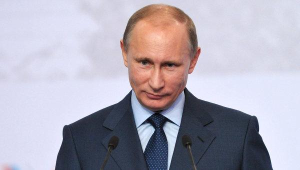 Председатель правительства России Владимир Путин . Архив