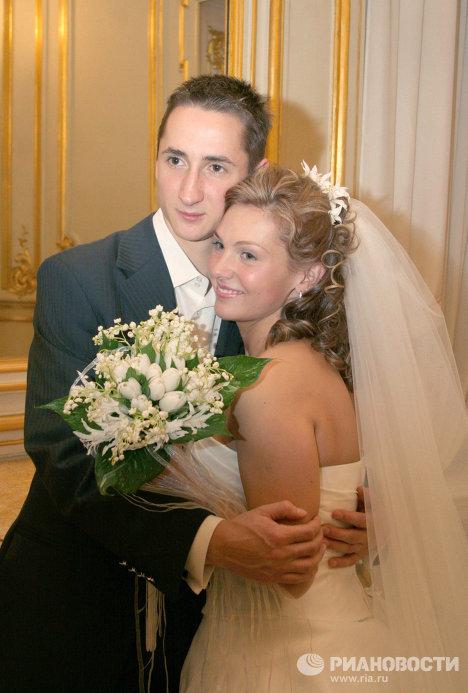 Свадьба футбольного защитника В.Быстрова