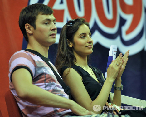 Динияр Билялетдинов с женой