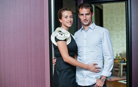 Роман Широков с женой