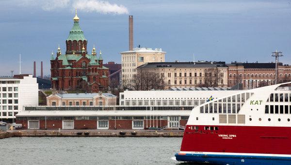 Города мира. Хельсинки. Финляндия. Архивное фото