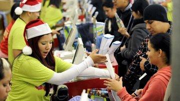 Начало рождественского шопинга