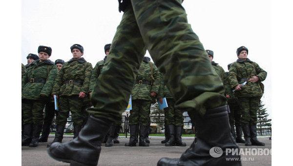 Вооруженные силы РФ. Архивное фото