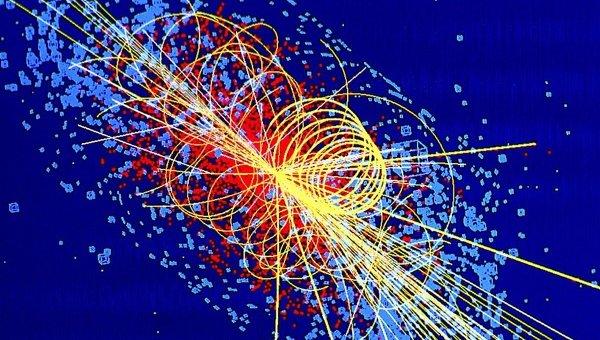 Компьютерное моделирование события рождения бозона Хиггса