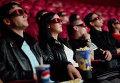 Зрители в кинотеатре во время просмотра фильма в формате 3D
