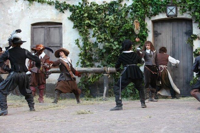 Съемки Трех мушкетеров