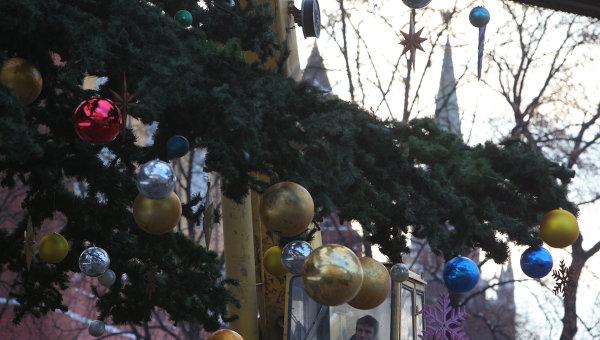 История традиция украшение новогодней елки