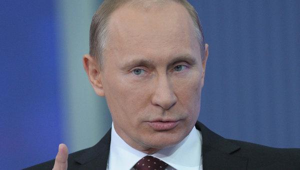 Председатель правительства РФ Владимир Путин. Архив