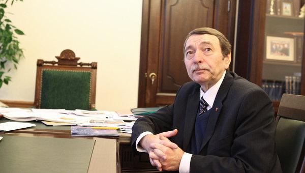 Ректор Национального исследовательского Томского государственного университета, профессор Георгий Майер
