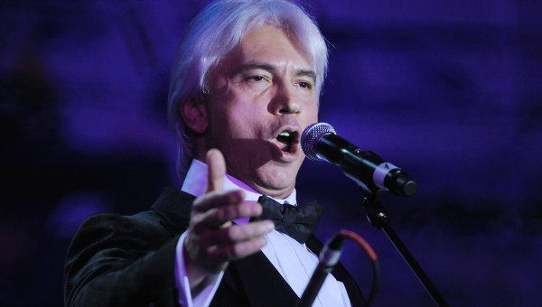 Оперный певец Дмитрий Хворостовский