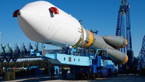 Запуск спутника связи Меридиан