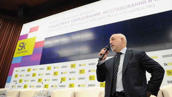 Глава фонда Сколково Виктор Вексельберг