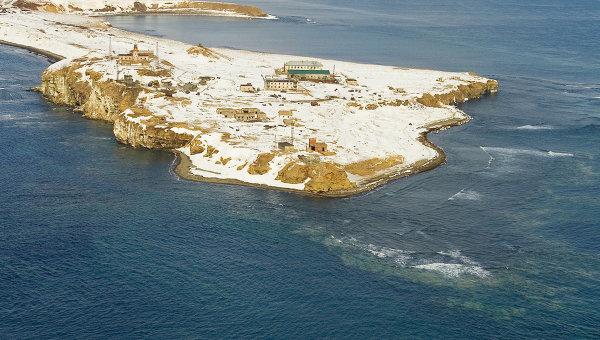 Мыс Крильон в проливе Сахалина. Архивное фото