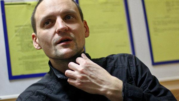 Сергей Удальцов в мировом суде Тверского района