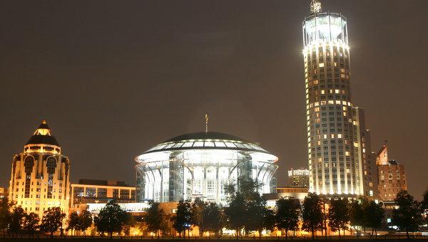 Международный Дом Музыки и отель Красные холмы. Архивное фото