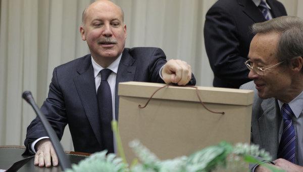 Регистрация Д.Мезенцева в качестве кандидата на пост президента РФ
