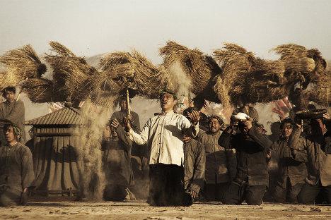 Кадр из фильма Равнина Белого оленя (Bai lu yuan/White Deer Plain)