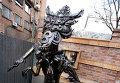Статуя Чужого установлена в центре Владивостока