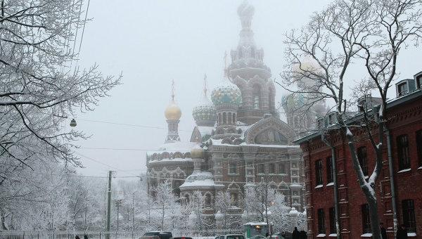 Храм Воскресения Христова (Спаса на крови) в Санкт-Петербурге. Архивное фото