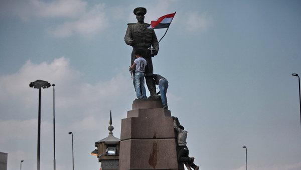 На площади Тахрир в Каире