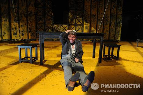 Пресс-показ спектакля Преступление и наказание в МХТ им. Чехова