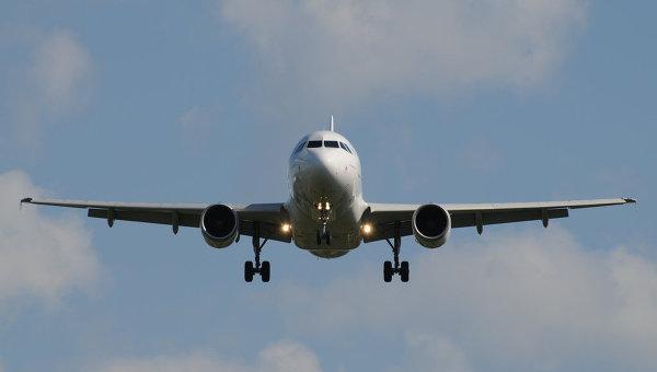 Самолет Airbus А-319. Архивное фото