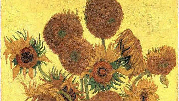 Полотно Ван Гога из серии Подсолнухи