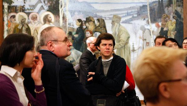 Открытие выставки к 150-летию Михаила Нестерова в Русском музее