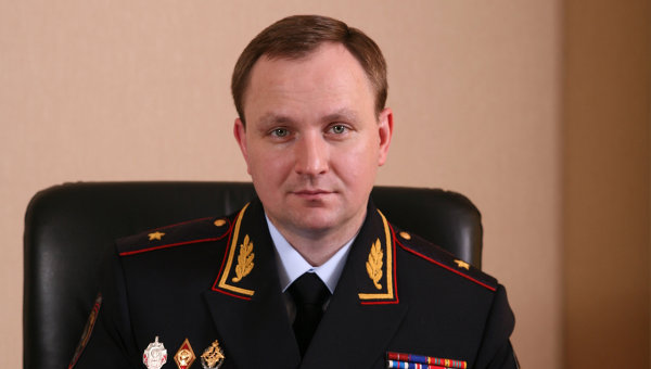Генерал-майор полиции Денис Сугробов, архивное фото