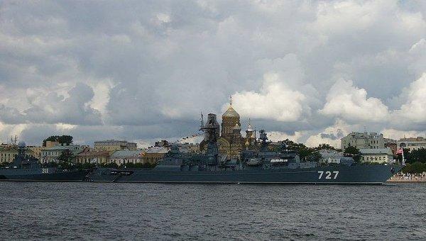 Сторожевой корабль Ярослав Мудрый. Архивное фото