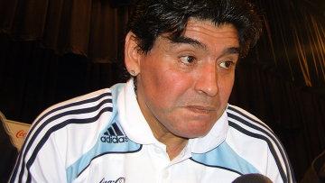 Диего Марадона. Архивное фото