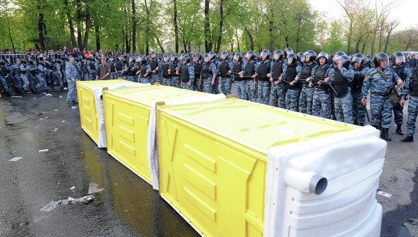 Задержания участников митинга Марш миллионов в Москве