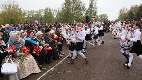 Празднование 67-й годовщины Победы в Приморье
