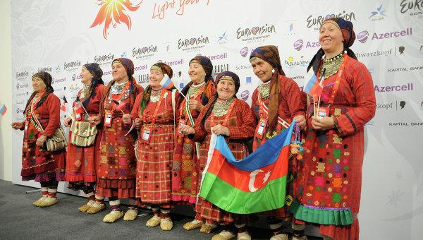 Вторая репетиция Бурановских бабушек накануне Евровидения