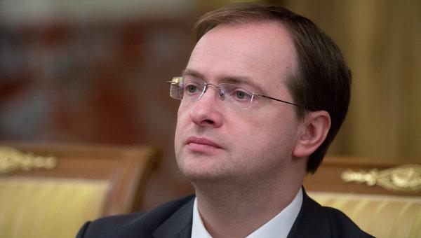 Министр культуры РФ Владимир Мединский. Архив