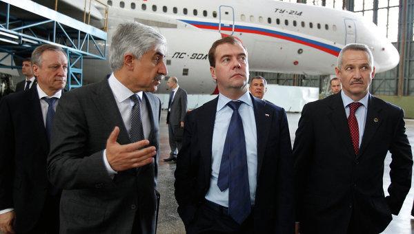 Рабочая поездка Дмитрия Медведева в Казань
