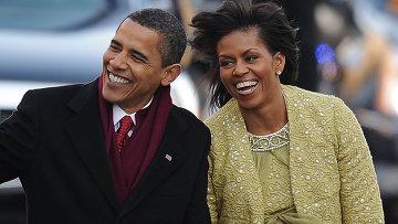 Барак и Мишель Обама. Архивное фото
