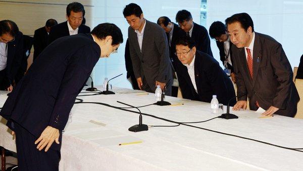 Встреча в верхах Японии, посвященная обсуждению перезапуска реакторов Оои