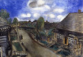 """Картина М.Шагала """"Аптека в Витебске"""""""