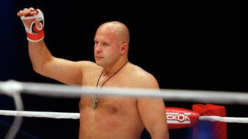 Многократный чемпион мира по боям без правил Федор Емельяненко. Архивное фото