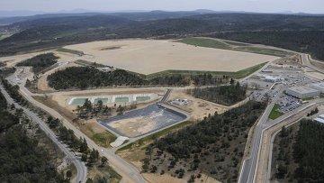 Строительная площадка международного термоядерного экспериментального реактора ИТЭР (ITER)