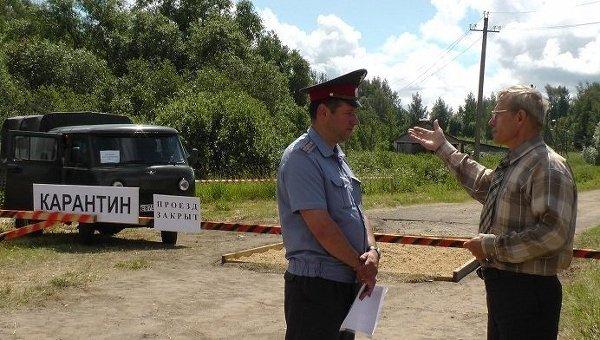 Африканская чума свиней найдена вПорецком районе Чувашии