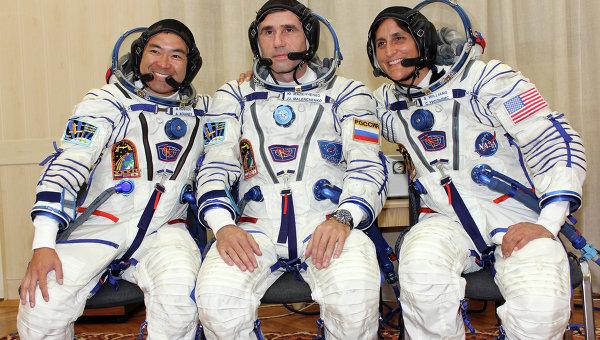 Экипаж корабля Союз-ТМА-05М