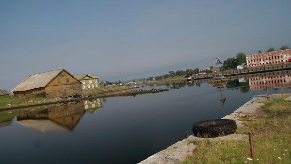 Соловецкие острова. Бухта Благополучия, архивное фото