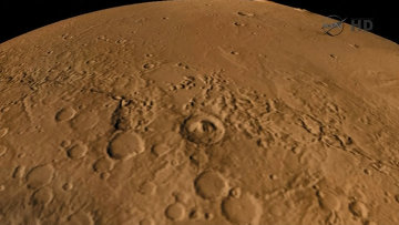Первые снимки горы в кратере Гейла и спуска на Марс от Curiosity