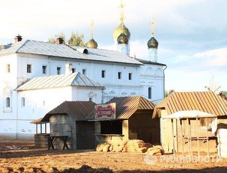 Съемочная площадка нового фильма Никиты Михалкова по мотивам прозы Бунина