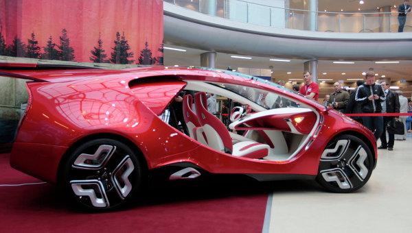 Автомобиль Ё-концепт