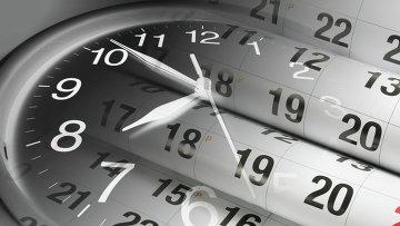 Стрелки часов. Архивное фото