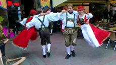 Октоберфест по-украински: баварские танцы и велопабы на Крещатике